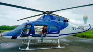 GANESH AARTI & HELICOPTER MUMBAI DARSHAN WITH HINDUSTAN TIMES & TEAM